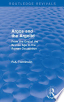 Argos And The Argolid Routledge Revivals