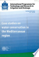 Case Studies on Water Conservation in the Mediterranean Region