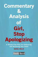 Commentary and Analysis of Girl  Stop Apologizing