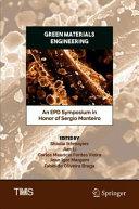 Green Materials Engineering