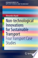 Non technological Innovations for Sustainable Transport