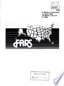 Fatal Accident Reporting System. Annual Report 1984
