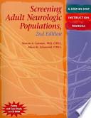 Screening Adult Neurologic Populations