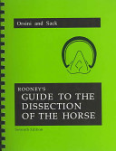 Rooney's Guide to the Dissection of the Horse
