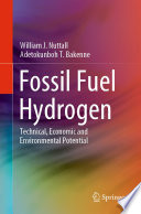 Fossil Fuel Hydrogen