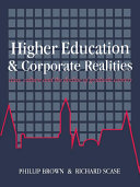 Higher Education And Corporate Realities