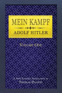 Mein Kampf (English Translation, Vol 1)