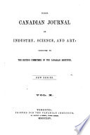 Canadian Journal Of Industry Science And Art