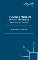 T.H. Green's Moral and Political Philosophy