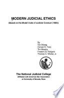 Modern Judicial Ethics