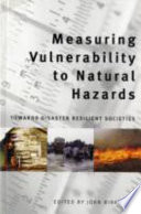 Measuring Vulnerability to Natural Hazards