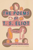 Pdf The Poems of T. S. Eliot: Volume II Telecharger