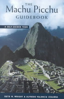 The Machu Picchu Guidebook Book