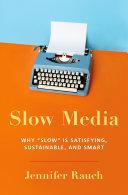 Slow Media Pdf/ePub eBook