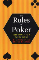 Pdf Rules Of Poker: Essentials For Every Game