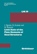 Limit State of the Plate Elements of Steel Structures