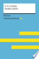 Emilia Galotti von Gotthold Ephraim Lessing: Reclam Lektüreschlüssel XL