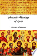 Apostolic Writings of Luqa Book
