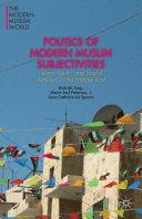 Pdf Politics of Modern Muslim Subjectivities Telecharger
