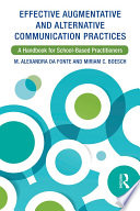 Effective Augmentative and Alternative Communication Practices Book