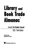 Library And Book Trade Almanac 2011