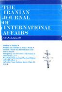 Pdf The Iranian Journal of International Affairs