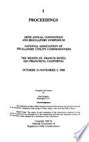 Proceedings [of The] Annual Convention