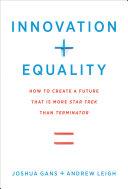 Innovation + Equality [Pdf/ePub] eBook