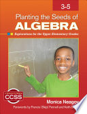 Planting the Seeds of Algebra  3 5 Book