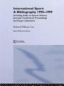 International Sport  A Bibliography  1995 1999