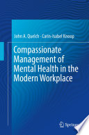Compassionate Management of Mental Health in the Modern Workplace Book