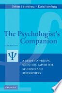 The Psychologist s Companion Book