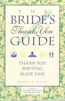 The Bride S Thank You Guide Book