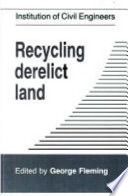 Read Online Recycling Derelict Land For Free