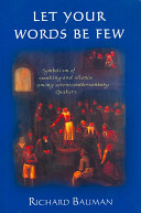 Let Your Words be Few: Symbolism of Speaking and Silence Among ...
