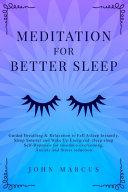 Meditation for Better Sleep