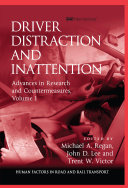 Driver Distraction and Inattention Pdf/ePub eBook