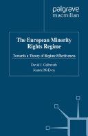 The European Minority Rights Regime