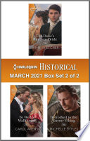 Harlequin Historical March 2021   Box Set 2 of 2