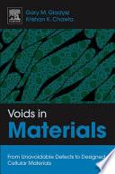 Voids in Materials Book