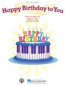 Happy Birthday to You Sheet Music Pdf/ePub eBook
