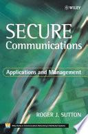 Secure Communications Book PDF
