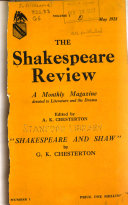The Shakespeare Review