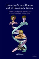 Homo Psychicus as Human and on Becoming a Person Book