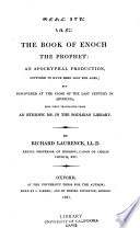 The Book of Enoch, the Prophet: