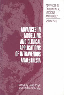 Advances in Modelling and Clinical Application of Intravenous Anaesthesia