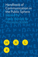 Pdf Handbook of Communication in the Public Sphere Telecharger