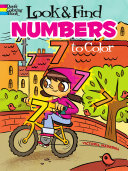 Look   Find Numbers to Color