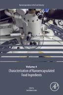 Characterization of Nanoencapsulated Food Ingredients