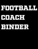 Football Coach Binder